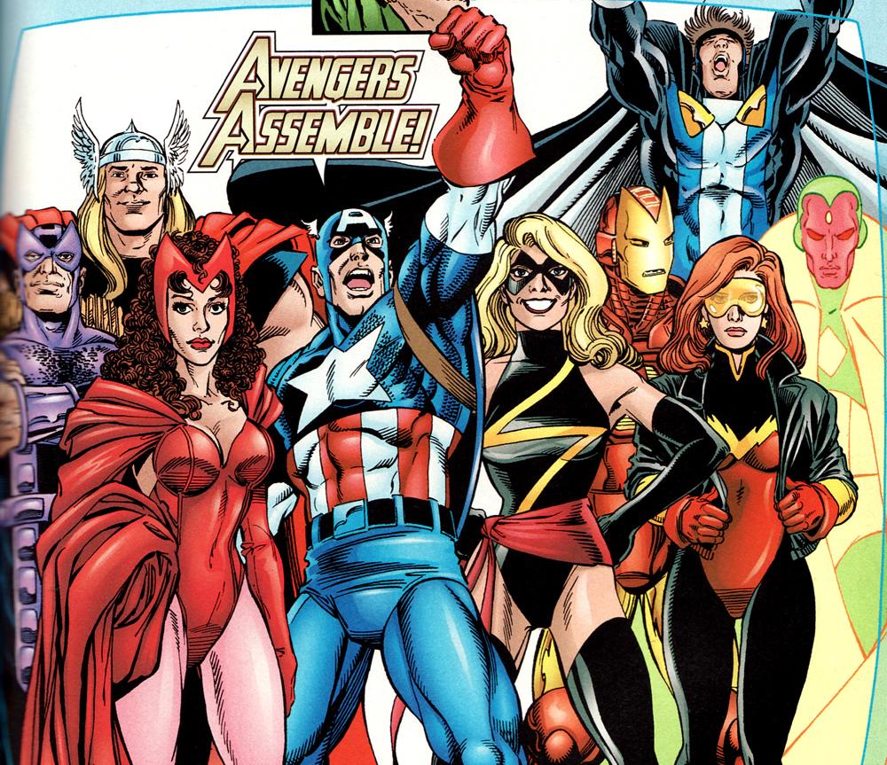 Top 5 Avengers Line Ups