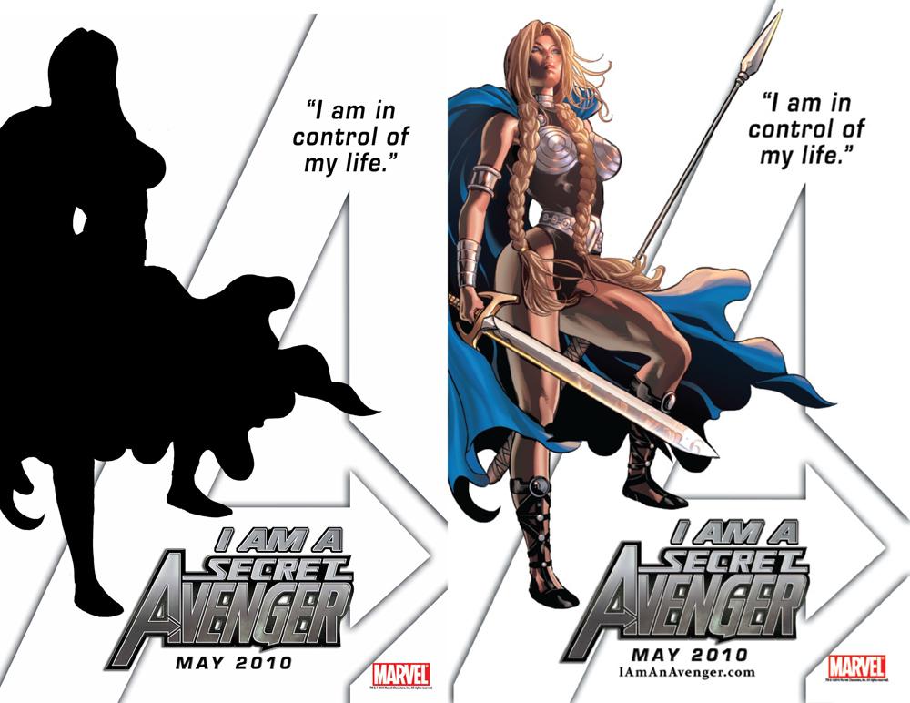 Secret Avengers Valkyrie