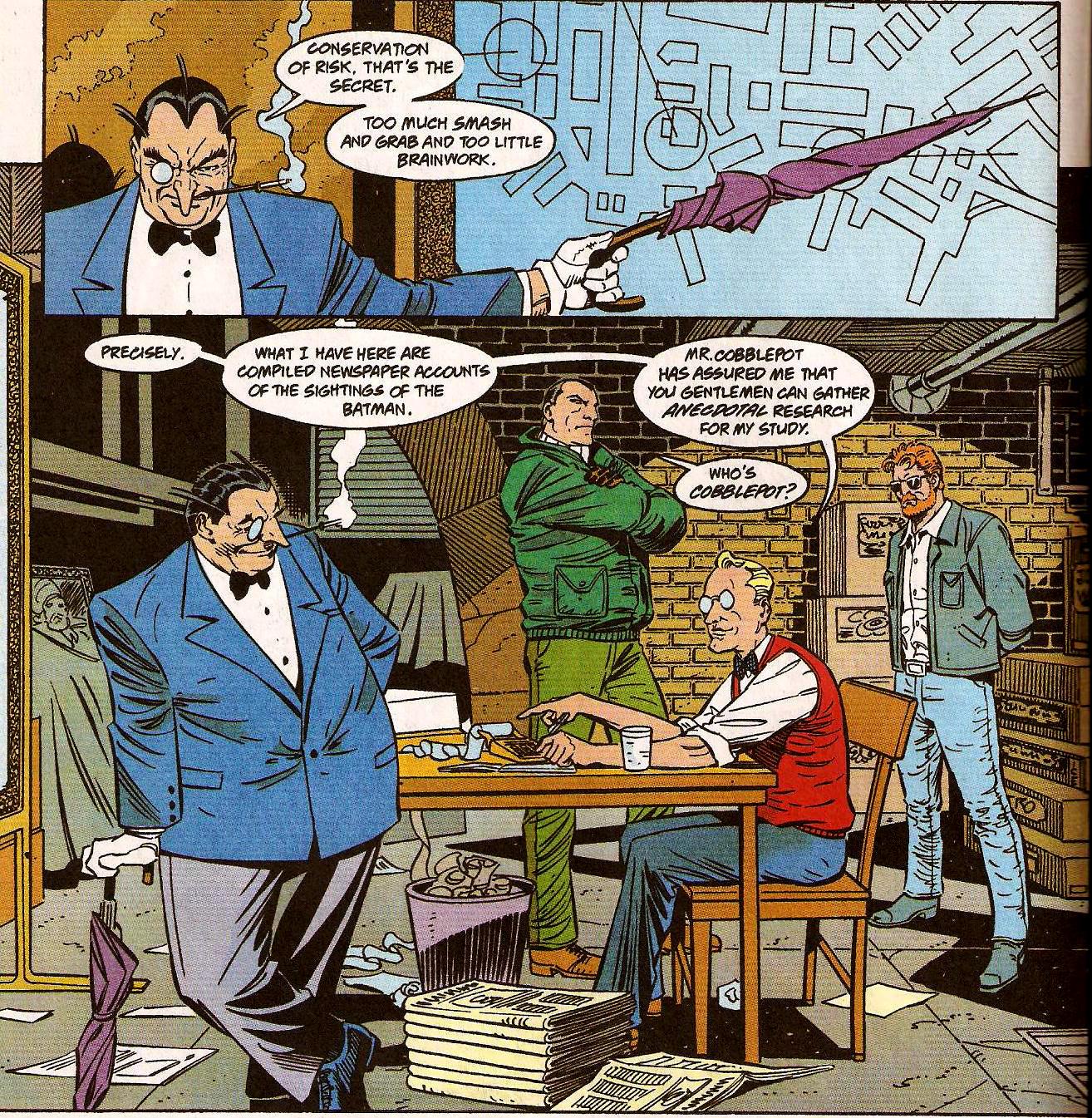 From Detective Comics (Vol. 1) #683 (1995)